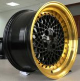 Roda azul bonita da liga do mercado de acessórios do bordo e do ouro