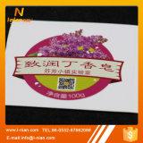 Escrituras de la etiqueta de encargo del jabón líquido de la impresión para las botellas