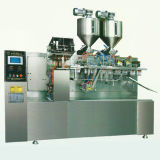 Machine d'emballage horizontale pour coller