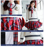 Chandail d'uniforme scolaire, conception élevée japonaise d'uniforme scolaire de Customerized