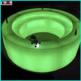 Mobília iluminada/mobília do fulgor/decoração iluminada do diodo emissor de luz da mobília/mobília do Lit
