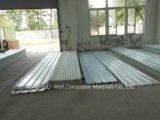 El material para techos acanalado del color de la fibra de vidrio del panel de FRP/del vidrio de fibra artesona W172050