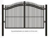 金属の庭のアーチのトレリスの庭の塀のゲート