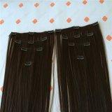 人間の毛髪を搭載する毛の拡張の一等級クリップ