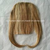 VriginヨーロッパのRemyの人間の毛髪の強打のフリンジ
