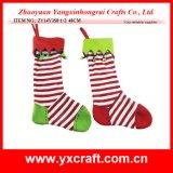 Decoración de Navidad (ZY14Y468-1-2) Percha de calcetines de Navidad