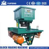 機械を作るDmyf600によって圧縮される地球のブロック