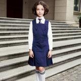 Vestiti e camicia dal blu marino dell'uniforme scolastico di usura di inverno
