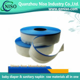 Alto nastro laterale adesivo di GSM di alta qualità per il pannolino del bambino con la certificazione dello SGS