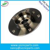Алюминиевые части CNC штуцеров трубы филируя подвергая механической обработке, точность CNC обрабатывая части
