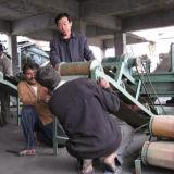 農産物ラインをリサイクルする不用なタイヤ