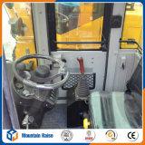Mini chargeur avant hydraulique de roue avec le contrôle pilote hydraulique