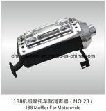 silenziatore d'acciaio del motociclo 4stroke per il modello ed i generatori della Honda