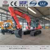 Excavatrice moyenne Bd150 de chenille avec la position 0.7m3