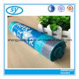Мешки отброса HDPE пластичные с лентами притяжки