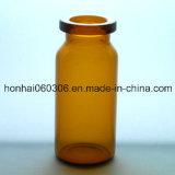 fiole 10ml en verre tubulaire ambre