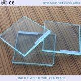 酸が付いている緩和されたガラスはガラスおよび板ガラス2-12mmをエッチングした