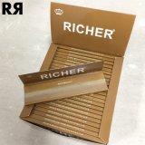 Non raffiné plus riche/Brown/papier non raffiné de fumée de tabac de chanvre