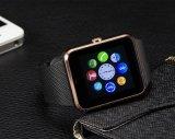 カスタマイズされたクリスマスのギフトの工場はBluetooth Gt08にスマートな腕時計の電話を、Mtk6261スマートな腕時計した