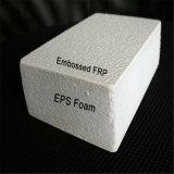 Painel gravado seixo da isolação da espuma do EPS da fibra de vidro para a incubação