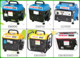 500W Portable Single Phase Tiger Gasoline Generator (EM650)