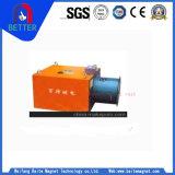 Mineral da série de Rcda/suspensão Vento-Refrigerando/separador magnético elétrico do ferro para o transporte de maquinaria de mineração/triturador/correia/moedor
