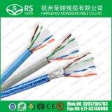 UTP CAT6A avec le câble Ethernet 23AWG de cuivre de 0.57mm