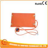 12V電池式のシリコーンの暖房のマットのパッドの要素のシリコーンのヒーター