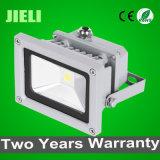 Zhongshan precio de fábrica luz de inundación impermeable al aire libre de 10W LED con Certificación CE RoHS