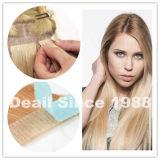 Legare l'estensione con un nastro dei capelli umani cinesi di Remy nel colore chiaro