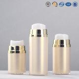 bouteille privée d'air de empaquetage de pompe acrylique en plastique de lotion de bouton poussoir de produit de beauté de 15ml 30ml 50ml 80ml 100ml Skincare