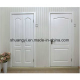 Puerta de madera sólida de China de la mejor puerta de madera