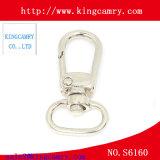 Металл оборудования сумки верхнего сегмента фиксируя щелчковый крюк для сумки