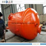 熱分解のプラントXhzt-2800-6000に油をさす10ton無駄