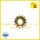 Промышленные цепи Желтый цинкования Специальный Звездочка с шестью Angle Диаметр цилиндра