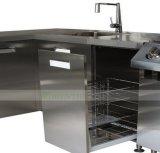 Cucina esterna dell'acciaio inossidabile 304 con la griglia del BBQ (WH-D501)