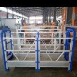Plate-forme de travail suspendue par aluminium vertical aérien hydraulique portatif