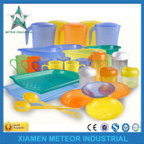 De aangepaste Producten van het Afgietsel van de Injectie van de Container van de Doos van de Verpakking van het Vaatwerk Plastic