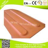 Pavimentazione di gomma di collegamento variopinta di sicurezza esterna per il passaggio pedonale cieco