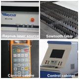 prix de machines/machine de découpage de laser de tôle de la fibre 500With3000W