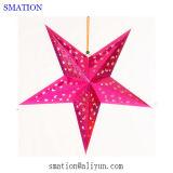 decorazioni di carta d'attaccatura fortunate di desiderio 3D che Wedding la stella di natale delle lanterne