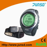Reloj del compás del altímetro con el monitor del ritmo cardíaco (JS-716B)