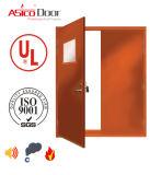 2016年のULの証明の防火扉の鋼鉄ドアアメリカの標準安全ドアを評価する火3.0時間の