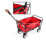 O Mac Sports Folding Utility Wagon em Red / Folding Cart