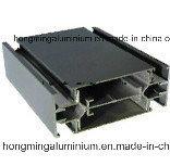 Anodisation en aluminium de profil anodisée pour le guichet et la porte