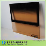 مسطّحة شكل [5مّ] حرارة - مقاومة يليّن زجاج لأنّ فرن باب