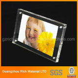 Marco de fotos de regalo de plástico acrílico marco de la boda