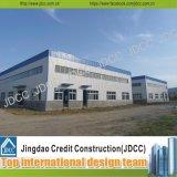 Structure métallique de lumière de construction d'usines d'usine