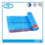 Bolso de basura resistente del lazo del HDPE para la cocina