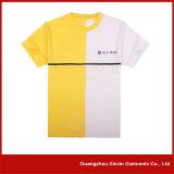 T-shirt da impressão da tela de seda da fábrica do OEM para a promoção com seu próprio logotipo (R73)